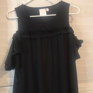 NWOT . Lauren Conrad black dress 😍